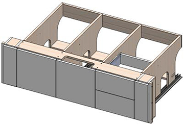 Cabinet Base drawing