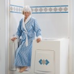 Best Bath Woman in blue robe