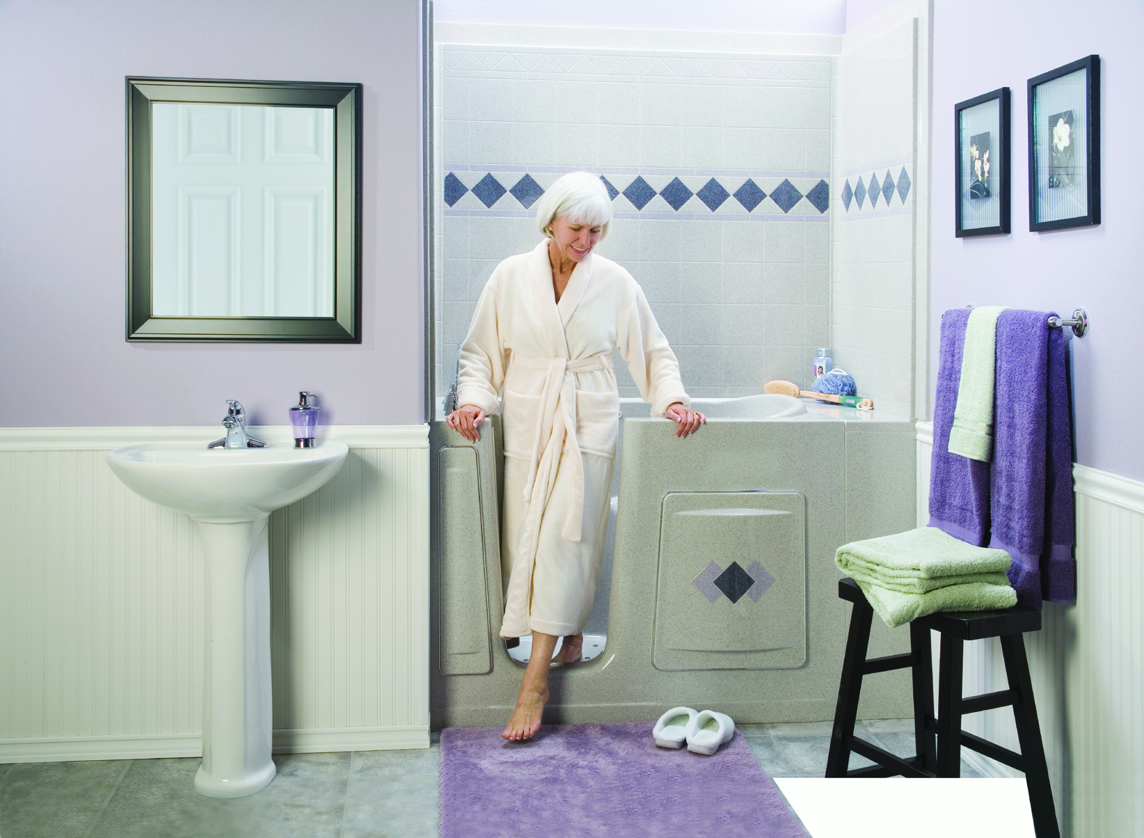 Choosing A Walk In Bathtub Part 2 Bather Considerations Aquassure Accessible Baths Accessible Baths Showers For Independent Assisted Living 1 866 404 8827