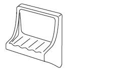 Soap Dishes & Shelves