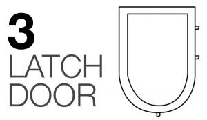 graphic 3 latch door