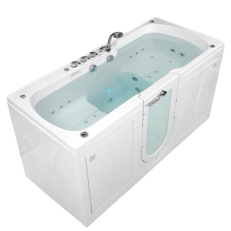 big4two end view bathtub